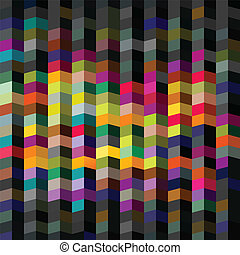 Abstract Geometric background, vector illustration