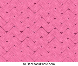 abstract geometric background with bright pink stripes