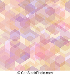 Abstract geometric background with