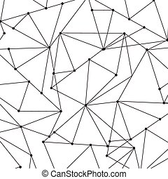 Abstract geometric background with polygons, vector illustration