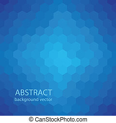 Abstract geometric blue background for design