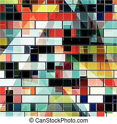 abstract geometric bright background