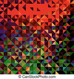 Abstract Geometric Color Background