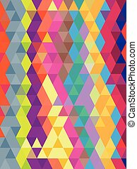 Abstract geometric colorful background in triangles texture