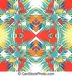 abstract geometric colorful background vector illustration