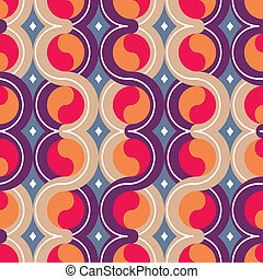 geometric colorful seamless pattern