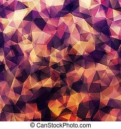 Abstract geometric design shape pattern. EPS 10