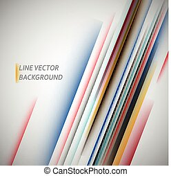 Abstract geometric line pattern