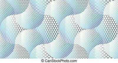 Abstract geometric metal surface seamless pattern