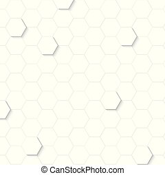 Abstract geometric on white background