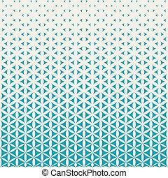 Abstract geometric pattern design.