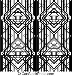 abstract geometric pattern, interwoven with volumetric grid...
