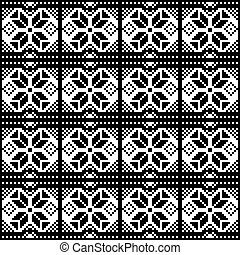 Abstract geometric pattern on a white background.