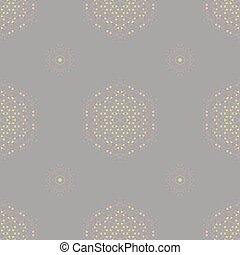 Symmetric Seamless Grey Background