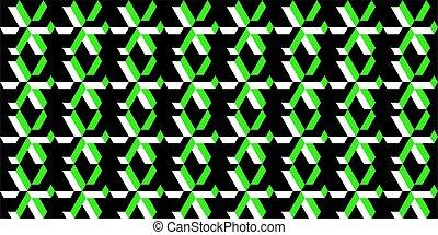 Abstract Geometric Pattern Vector Illustration Background Art