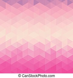 Abstract geometric pattern with for background, Vector