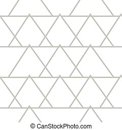 Abstract geometric pattern with lines, triangles seamless vector background