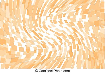 Abstract geometric pattern with squares, rectangles. Orange color Vector illustration