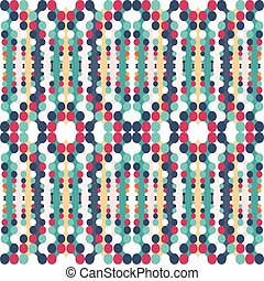 abstract geometric psychedelic seamless pattern