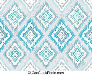 geometric seamless aztec pattern