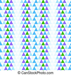 Abstract geometric seamless background with triangles