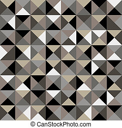 Abstract geometric seamless pattern. - Abstract geometric...