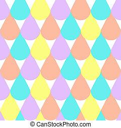 Abstract Geometric Seamless Pattern Background Illustration