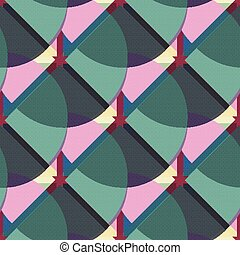 abstract geometric seamless pattern for your design