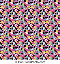 abstract geometric seamless pattern grunge texture