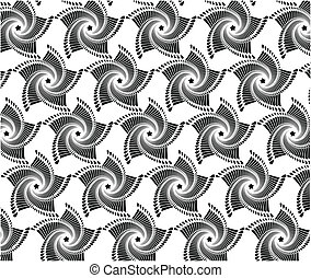 abstract geometric seamless pattern inspired by 1970s fashion in 1990'S Background abstract geometric seamless pattern