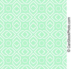 Abstract Geometric Seamless pattern. Vector background