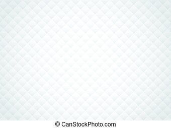 Geometric seamless pattern white texture design vector