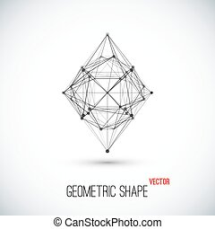 Abstract geometric shape for your design