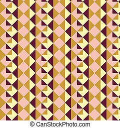 Abstract geometric shape pattern