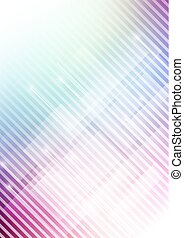 Abstract geometric shape with colors background
