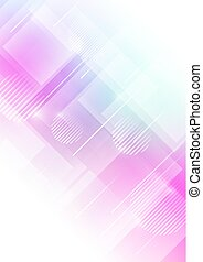 Abstract geometric shapes with colors background