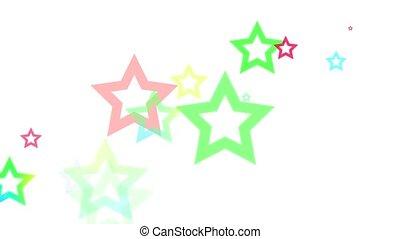Abstract Geometric Stars Loop HD