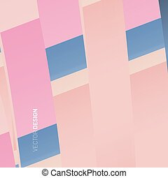 abstract geometric vector background. Overlapping paper shape