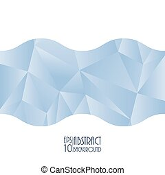 Abstract geometrical background with triangle design, vector illustration, eps10