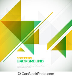 Abstract geometrical background with triangles and space for your message.