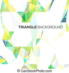 Abstract geometrical background with  triangles