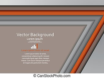 Abstract geometrical frame design. Vector illustration Eps...