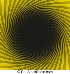Abstract geometrical spiral pattern background