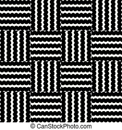Abstract geometrical square pattern