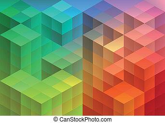 abstract, geometrisch, achtergrond