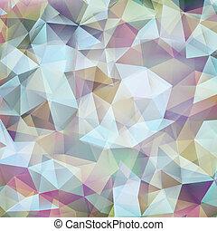 abstract, geometrisch ontwerp, vorm, pattern., eps, tien