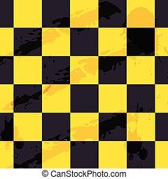 abstract, geruite vlag, achtergrond, vector