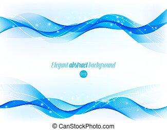 abstract, glanzend, golvend, achtergrond.