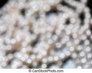 Abstract glimmer blurred background
