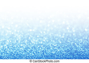 Abstract glitter blue background. Holiday shiny texture